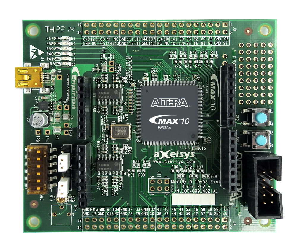 MAX 10 FPGA Evaluation Kit
