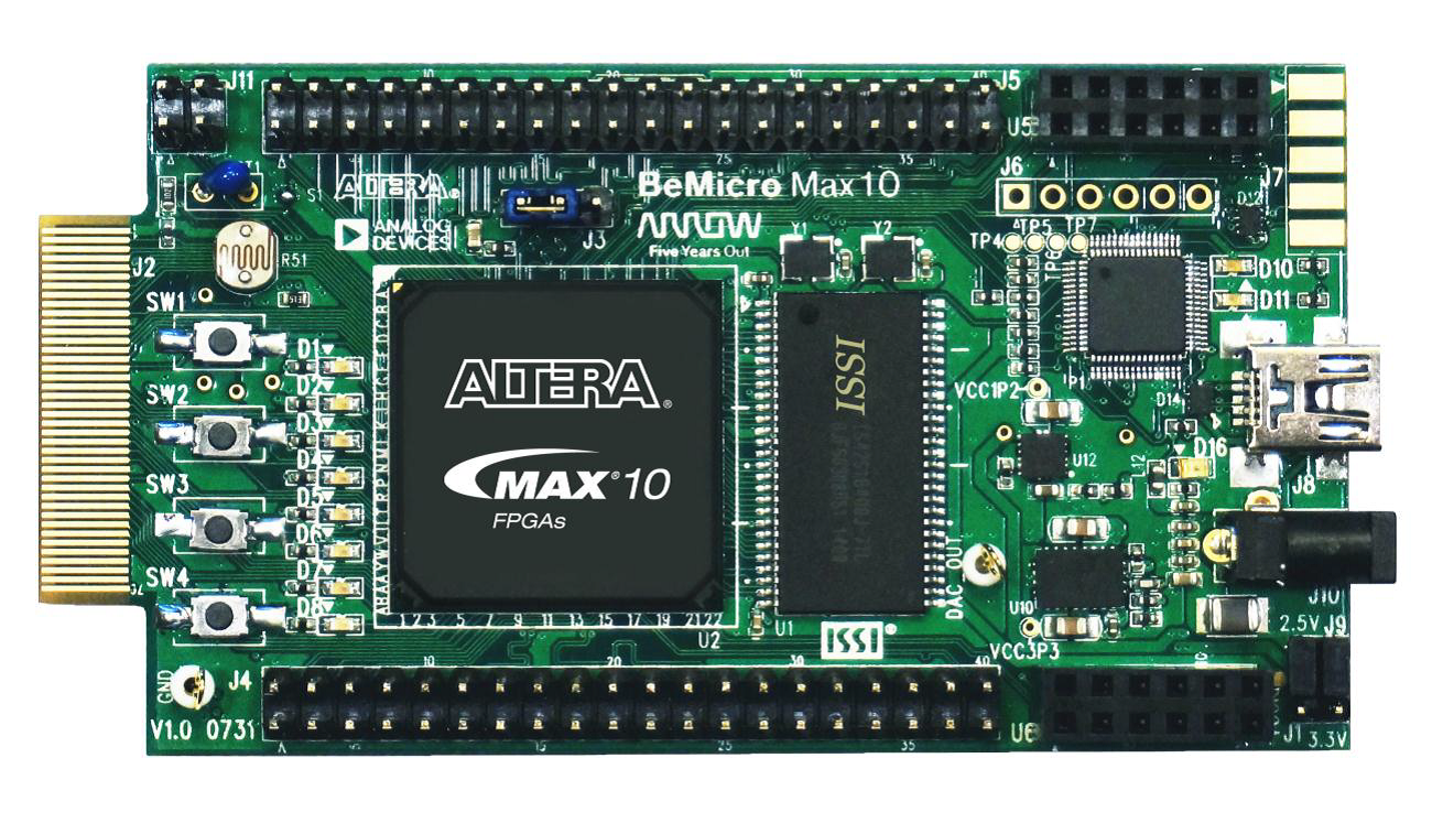BeMicro MAX 10 FPGA Evaluation Kit